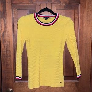 TOMMY HILFIGER HONEYCOMB SWEATER